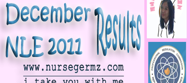December 2011 NLE Result: Full List