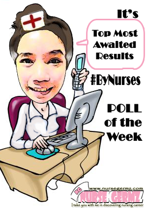Nurse Germz Poll of the Week By Nurses