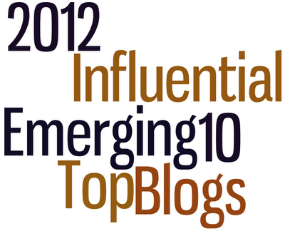 2012 top 10 influential blogs
