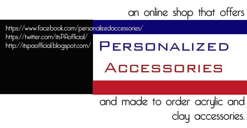 Personalized Accessories Giveaway