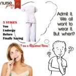 5 stages, registered nurse, nurse, nurse job, job, nurse challenge