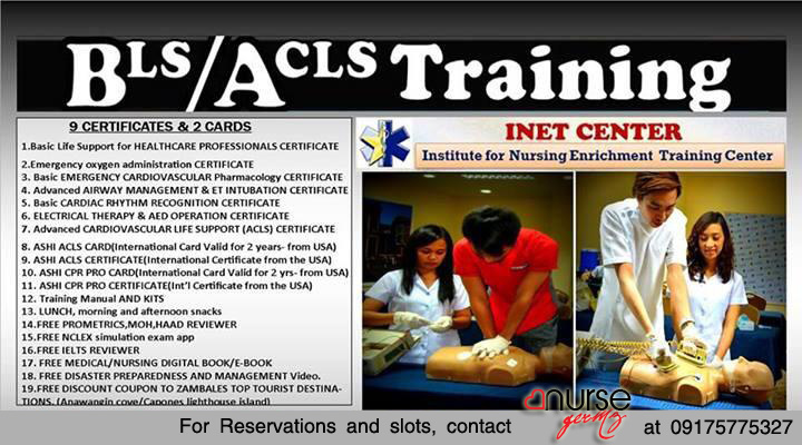 INET Center Philippines August Schedule of Trainings
