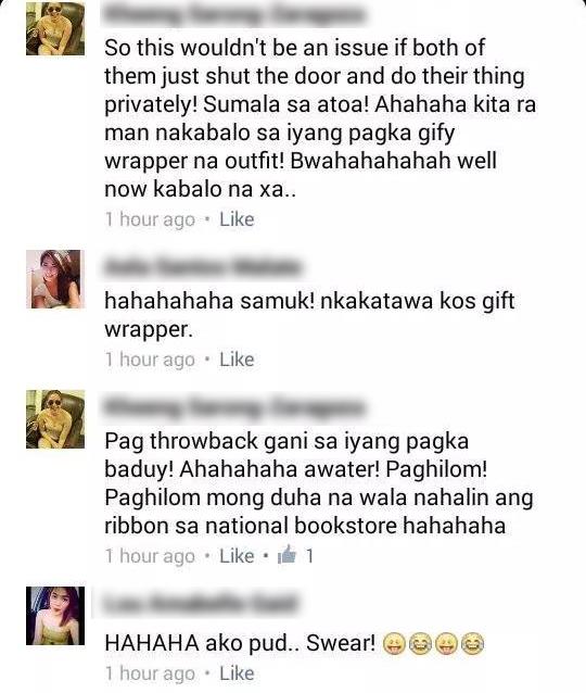 Karen Sarong Zaragosa, Lou Amabelle Gaid, Aela Santos Malate