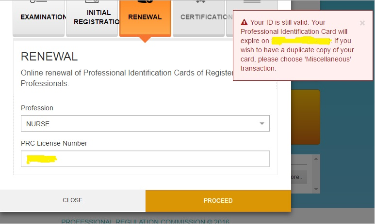 how to renew prc license online for nurses