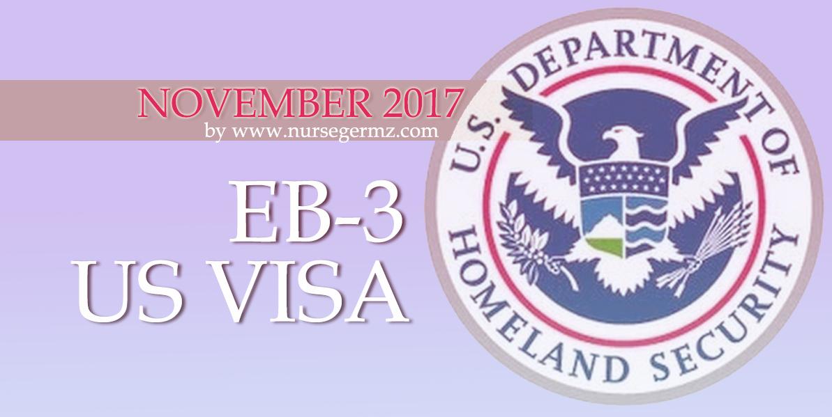 November 2017 EB-3 US Visa for Nurses in the Philippines
