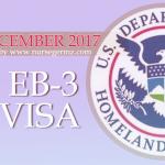 December 2017 EB-3 US Visa