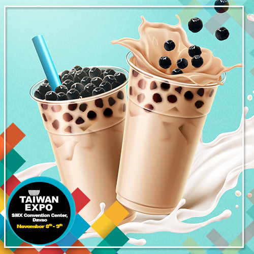 Taiwan Bubble Tea Pavilion empowers Davao business owners to ride on the bubble tea craze