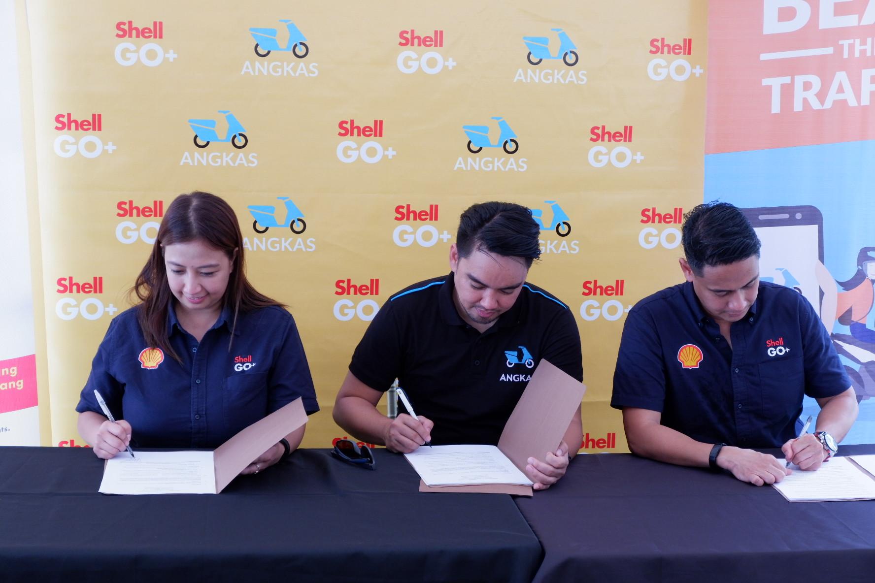 Shell-Angkas partnership