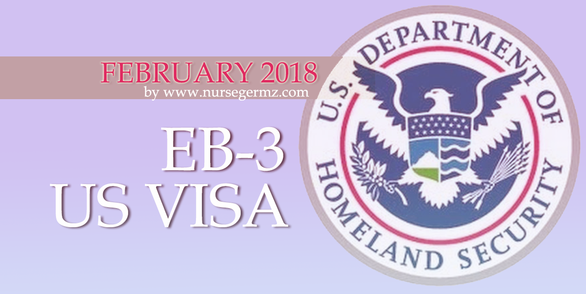 February 2018 EB-3 US Visa for Nurses in the Philippines